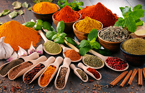 Spices, Herbs, Extracts And OLEOS