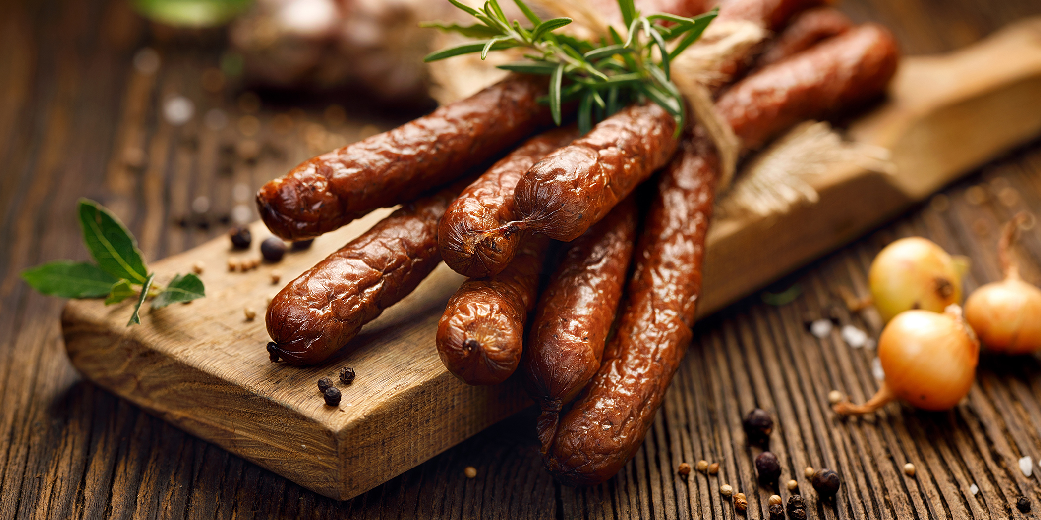 Collagen Casing for Processed Sausages ( Smoked & Cooked )