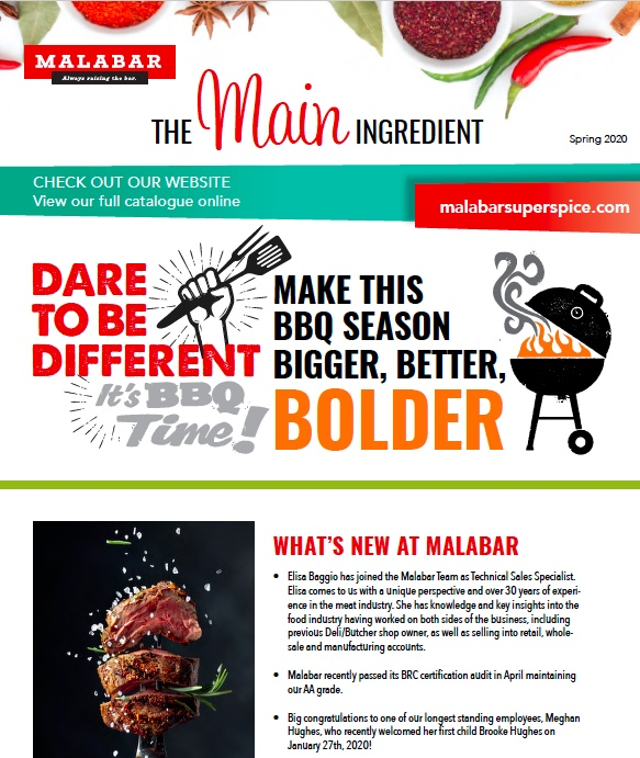 The Main Ingredient Newsletter